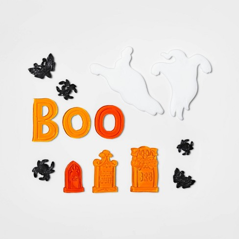 Ghost & Boo Halloween Window Cling - Hyde & EEK! Boutique™ - image 1 of 1