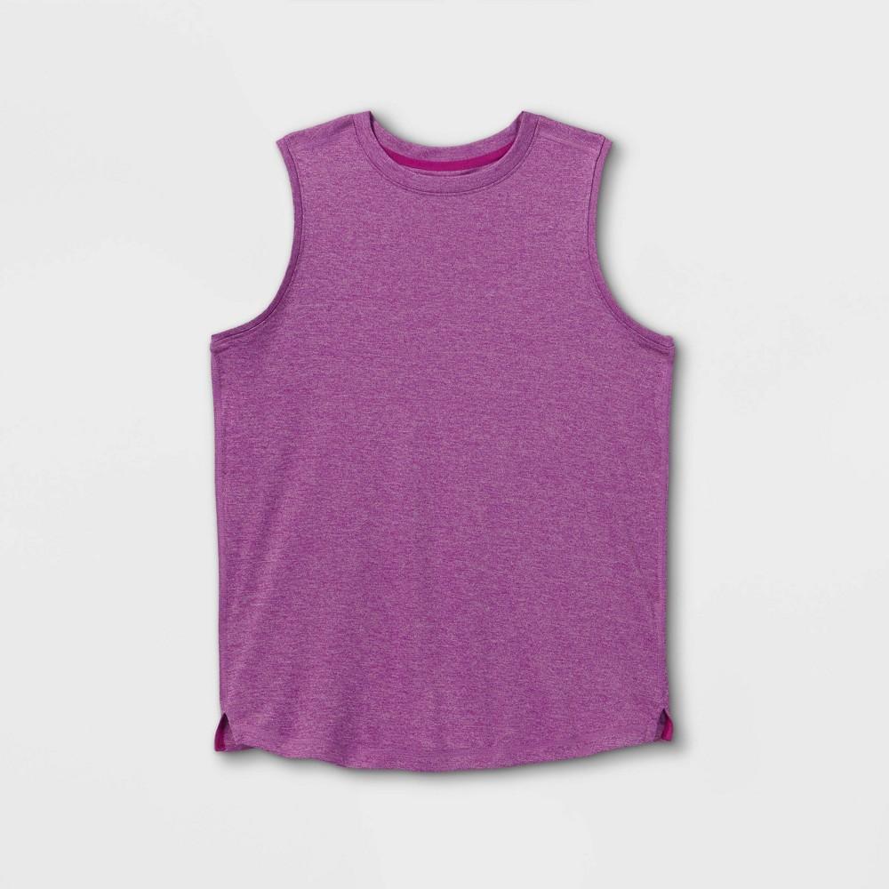 Boys 39 Sleeveless Tech T Shirt All In Motion 8482 Purple M