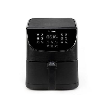 Cosori Premium 3.7qt Air Fryer with Skewer Rack Set - Black