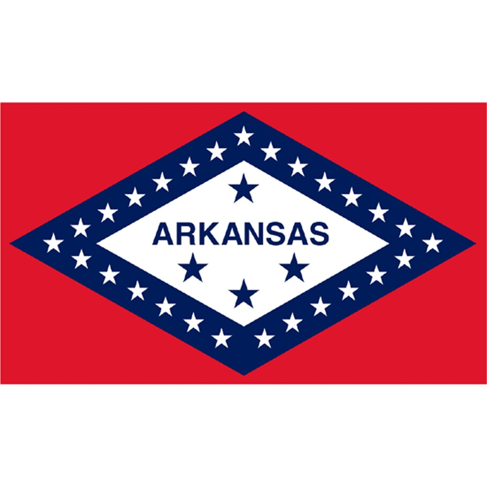 Image of Halloween Arkansas State Flag - 4' x 6'
