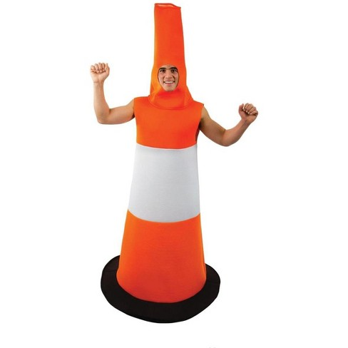 Orion Costumes Road Cone Adult Costume - One Size - image 1 of 1