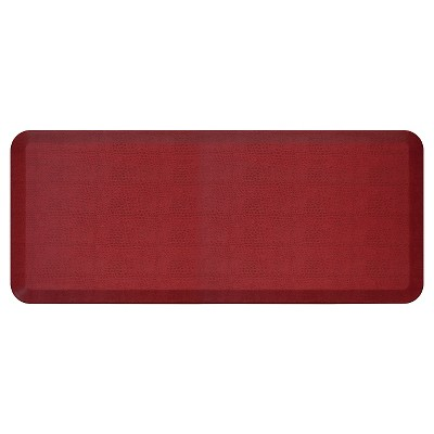 Newlife By Gelpro Comfort Kitchen Mat - Pebble Pomegranate - 20 X48