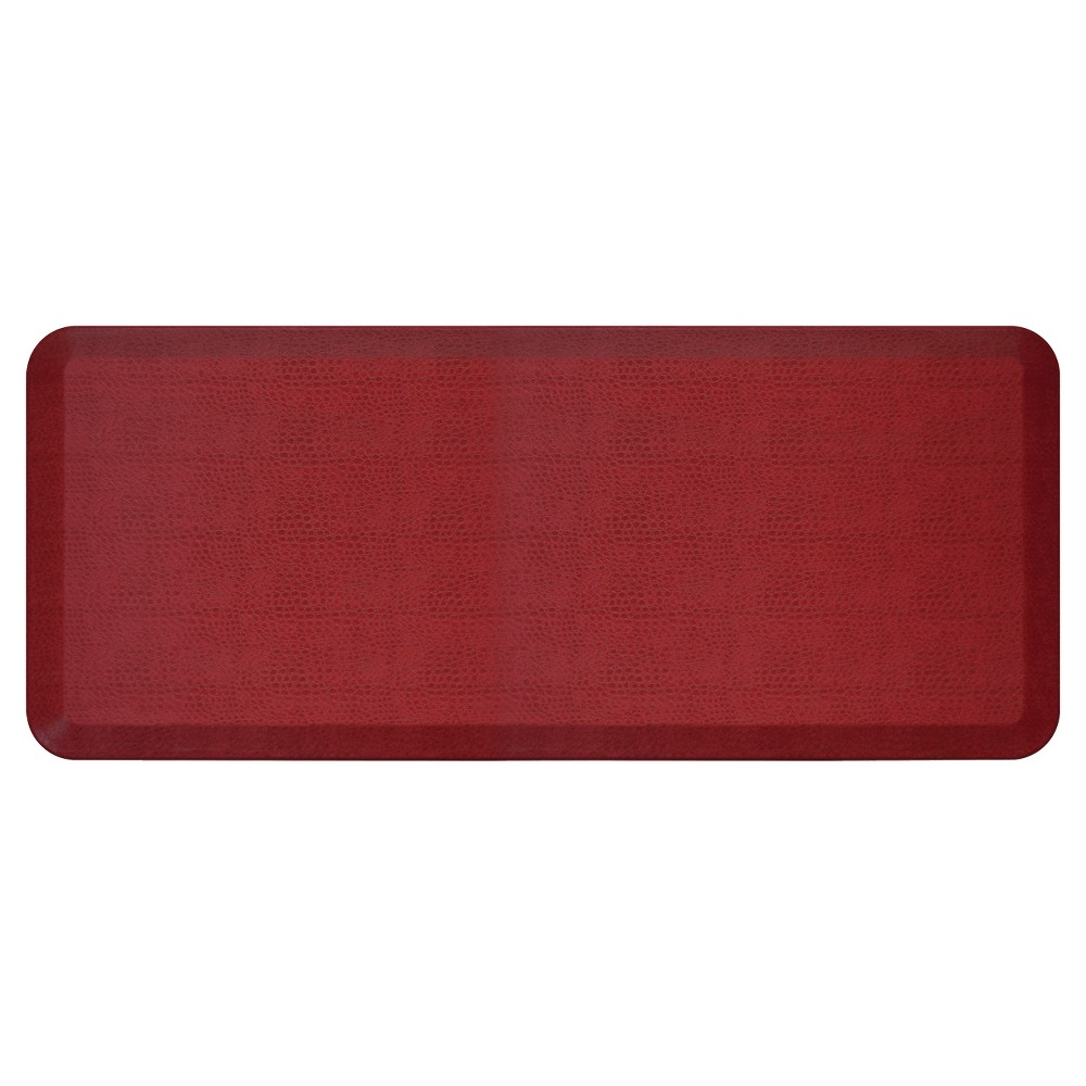 "Image of ""Newlife By Gelpro Comfort Kitchen Mat - Pebble Pomegranate - 20""""X48"""", Pomegranate Mystery"""