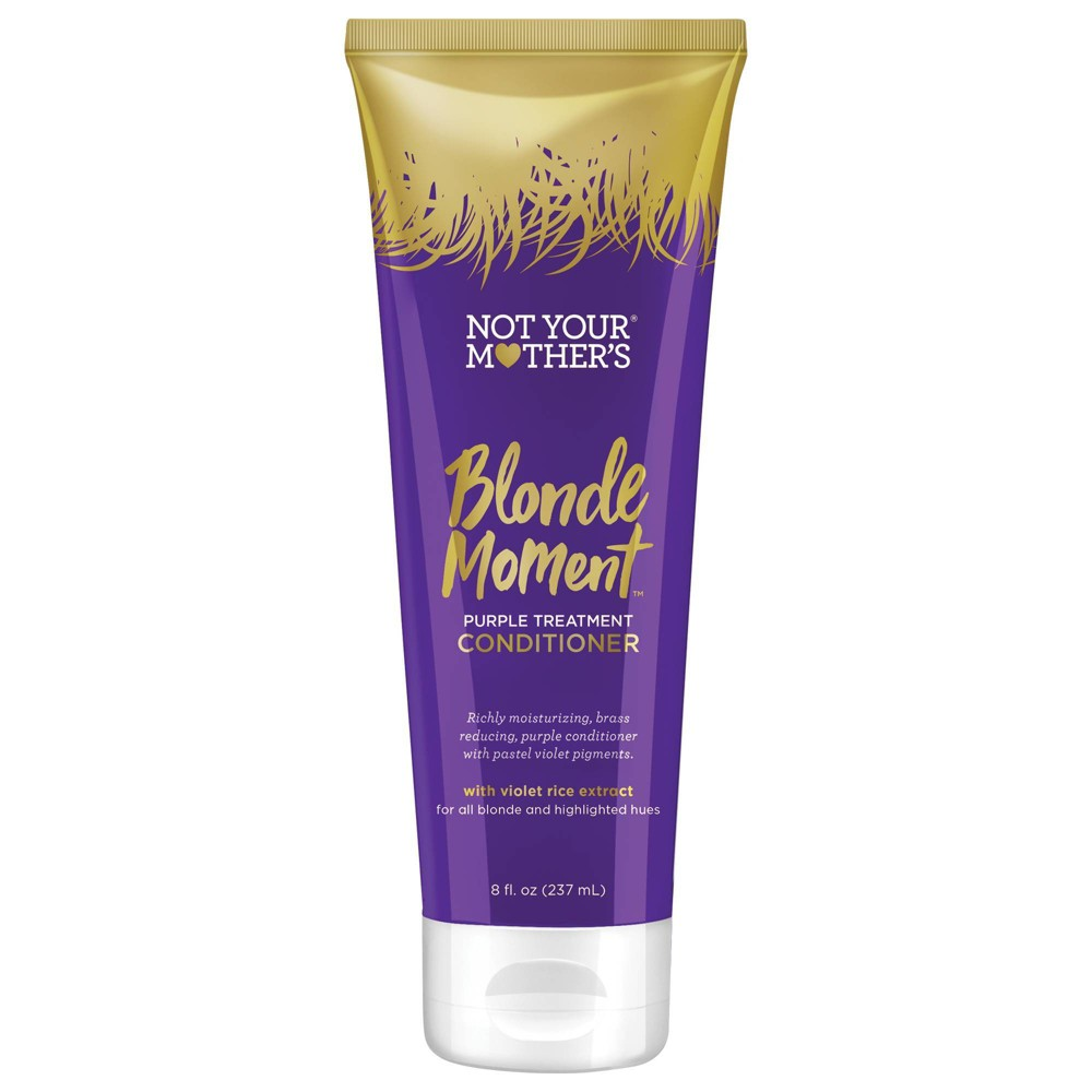 Image of Not Your Mother's Blonde Moment Purple Treatment Conditioner - 8 fl oz