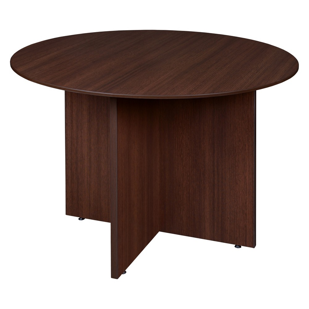 42 Sandia Round Conference Table Java Cherry (Red) - Regency