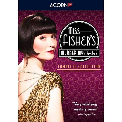Miss Fisher's Murder Mysteries: The Complete Collection (DVD)(2020)