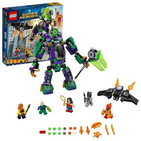 LEGO Super Heroes DC Comics Lex Luthor™ Mech Takedown 76097 - image 1 of 6
