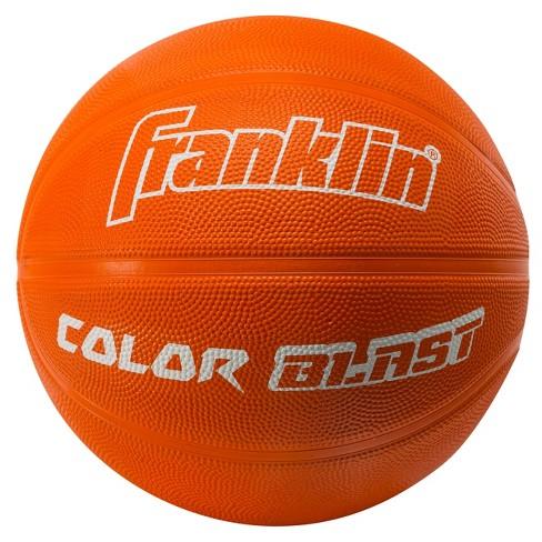 Franklin Sports Colorblast Basketball - Orange - image 1 of 1