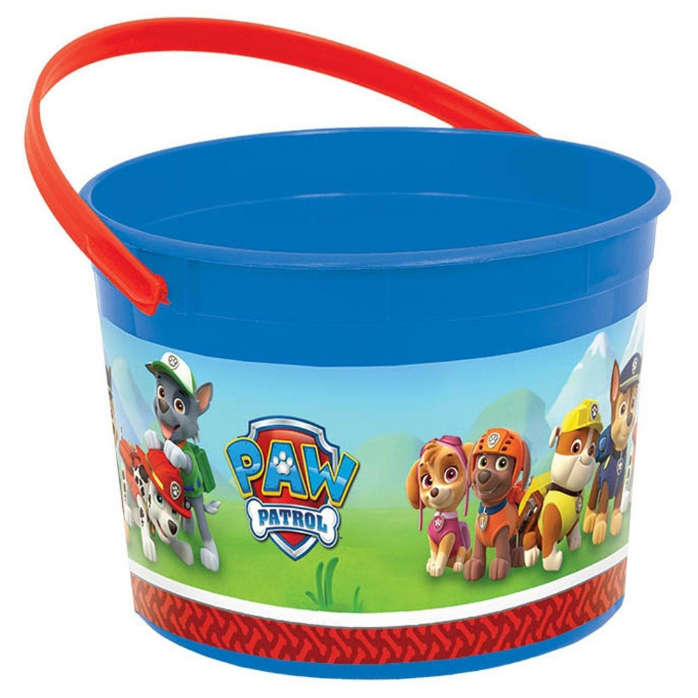 4 ct Paw Patrol Favor Bucket
