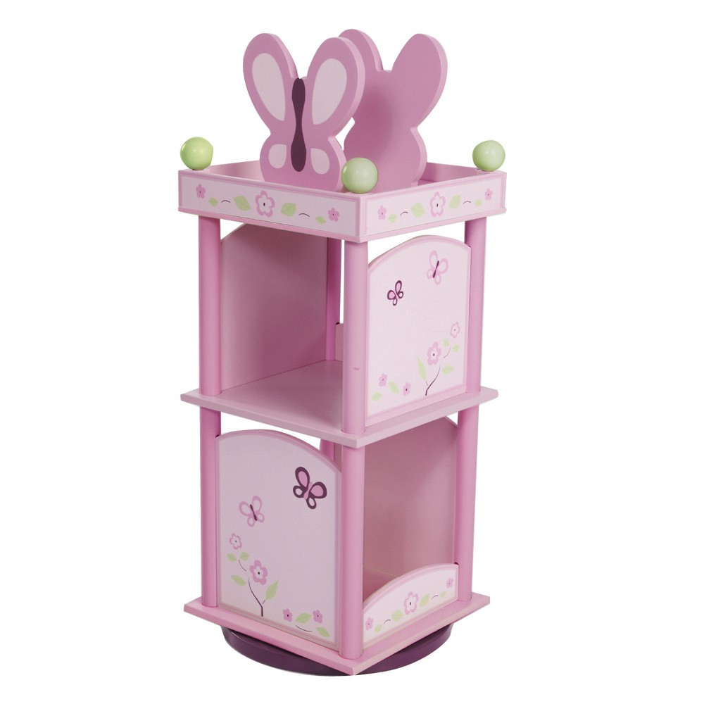 Sugar Plum Revolving Bookcase - Pink - Levels Of Discovery