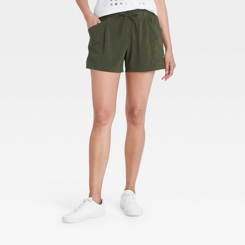 Women's Stretch Woven Shorts - All in Motion™ - image 1 of 4