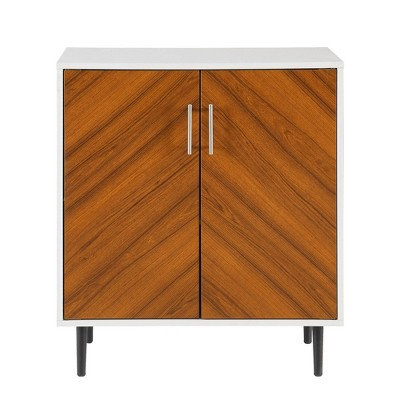 Angelo Modern Bookmatch Accent Cabinet - Saracina Home