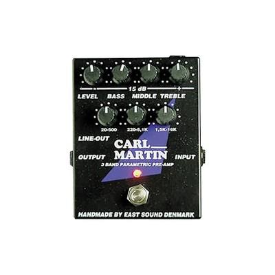 Carl Martin 3-Band Parametric EQ/Pre-amp