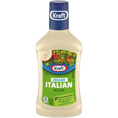 Kraft Creamy Italian Salad Dressing - 16fl oz