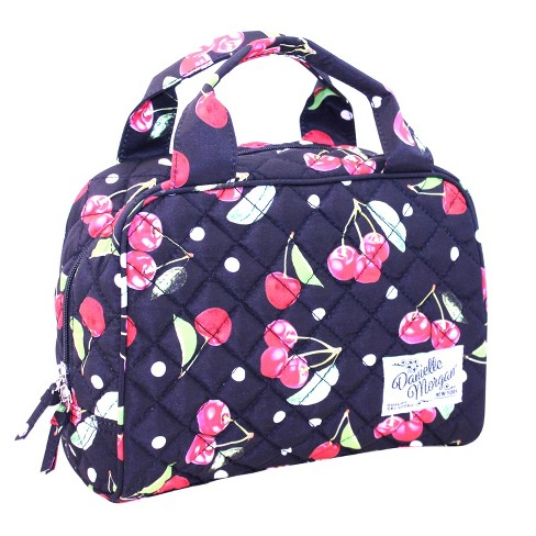Danielle Morgan Quilted Lunch Tote Cherries