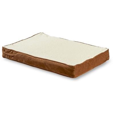 Kensington Garden Oscar Orthopedic Dog Bed - Latte/Birch - Extra Small