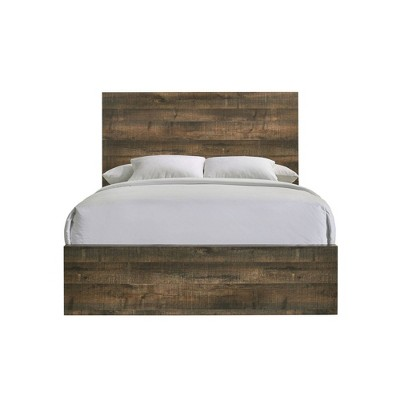 Beckett Panel Bed Walnut - Picket House Furnishings