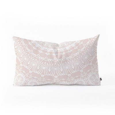 Monika Strigel Waiting for you Rose Oblong Throw Pillow Pink - Deny Designs