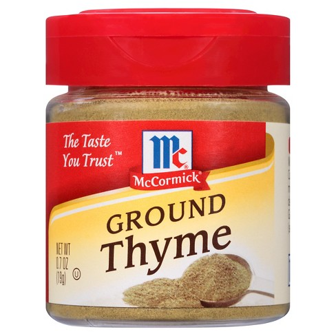 McCormick Ground Thyme - .7oz - image 1 of 6