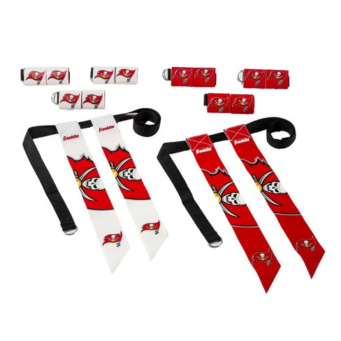 New NFL Franklin Sports Tampa Bay Buccaneers Youth Flag Football Set  for sale
