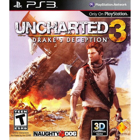 Uncharted 3: Drake's Deception PRE-OWNED PlayStation 3 - image 1 of 1