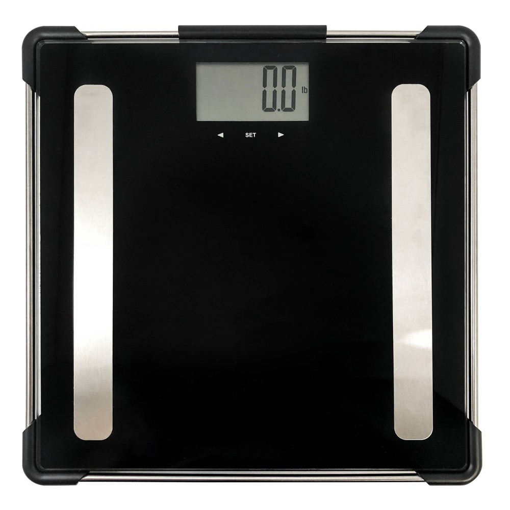 Image of Frame Body Composition Scale Black/Silver - Optima Home Scales
