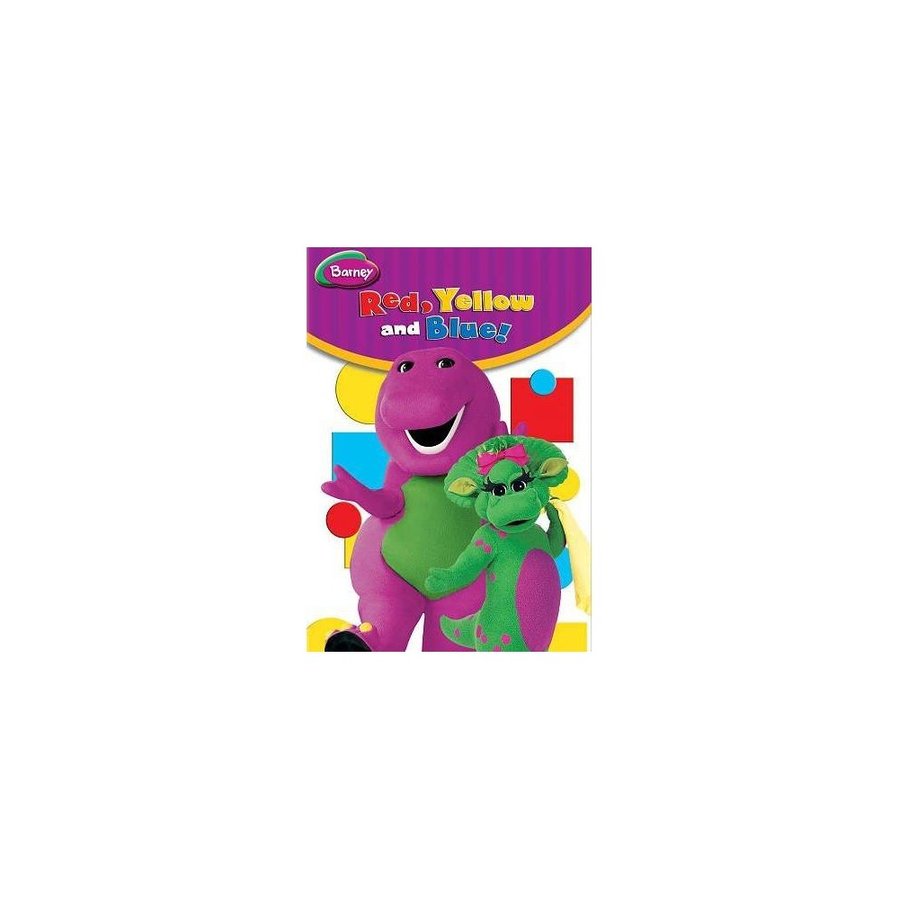 Barney:Red Yellow And Blue (Dvd)