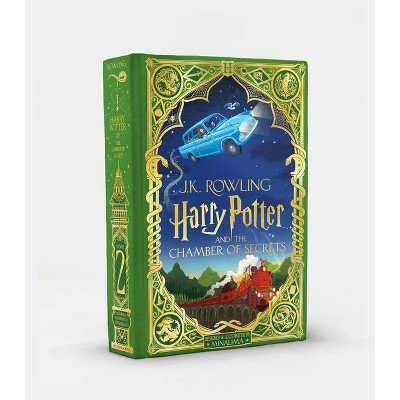 Harry Potter and the Chamber of Secrets (Minalima Edition) (Illustrated Edition), 2 - by J K Rowling (Hardcover)
