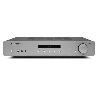 Cambridge Audio AXA35 Integrated Amplifier with Built In Phono Stage (Silver)