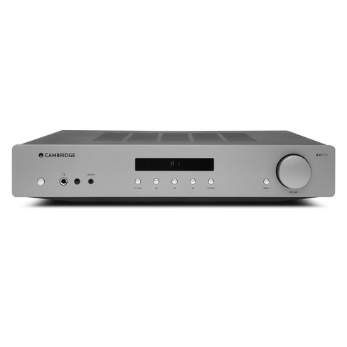 Cambridge Audio AXA35 Integrated Amplifier with Built In Phono Stage (Silver) - image 1 of 4