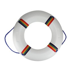 """Northlight Swimming Pool Safety Ring Buoy 21"""" - White"""