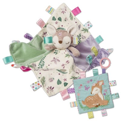 Mary Meyer Taggies Flora Fawn Character Blanket and Crinkle Me