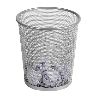Mesh Waste Basket Silver - Made By Design™