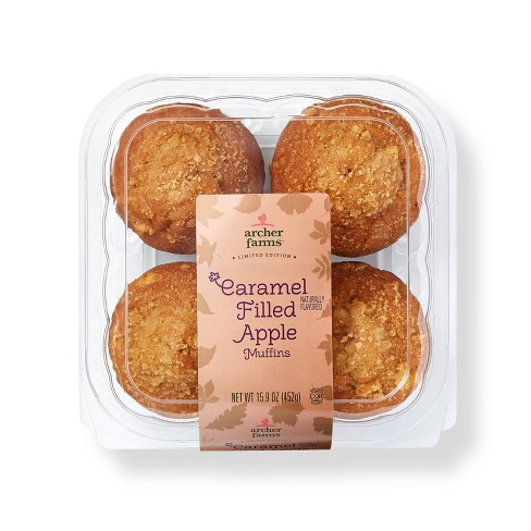 Apple Caramel Muffins - 16oz/4ct - Archer Farms™ - image 1 of 4