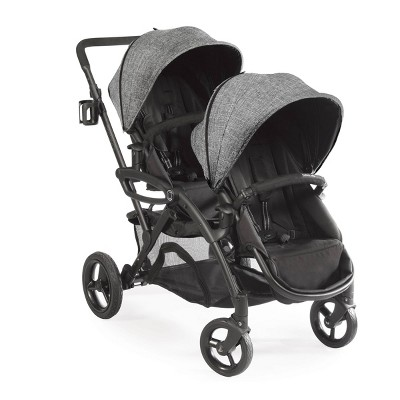 Contours Options Elite Tandem Double Stroller - Graphite