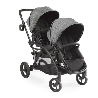 Contours Options Elite Tandem Double Stroller - Graphite
