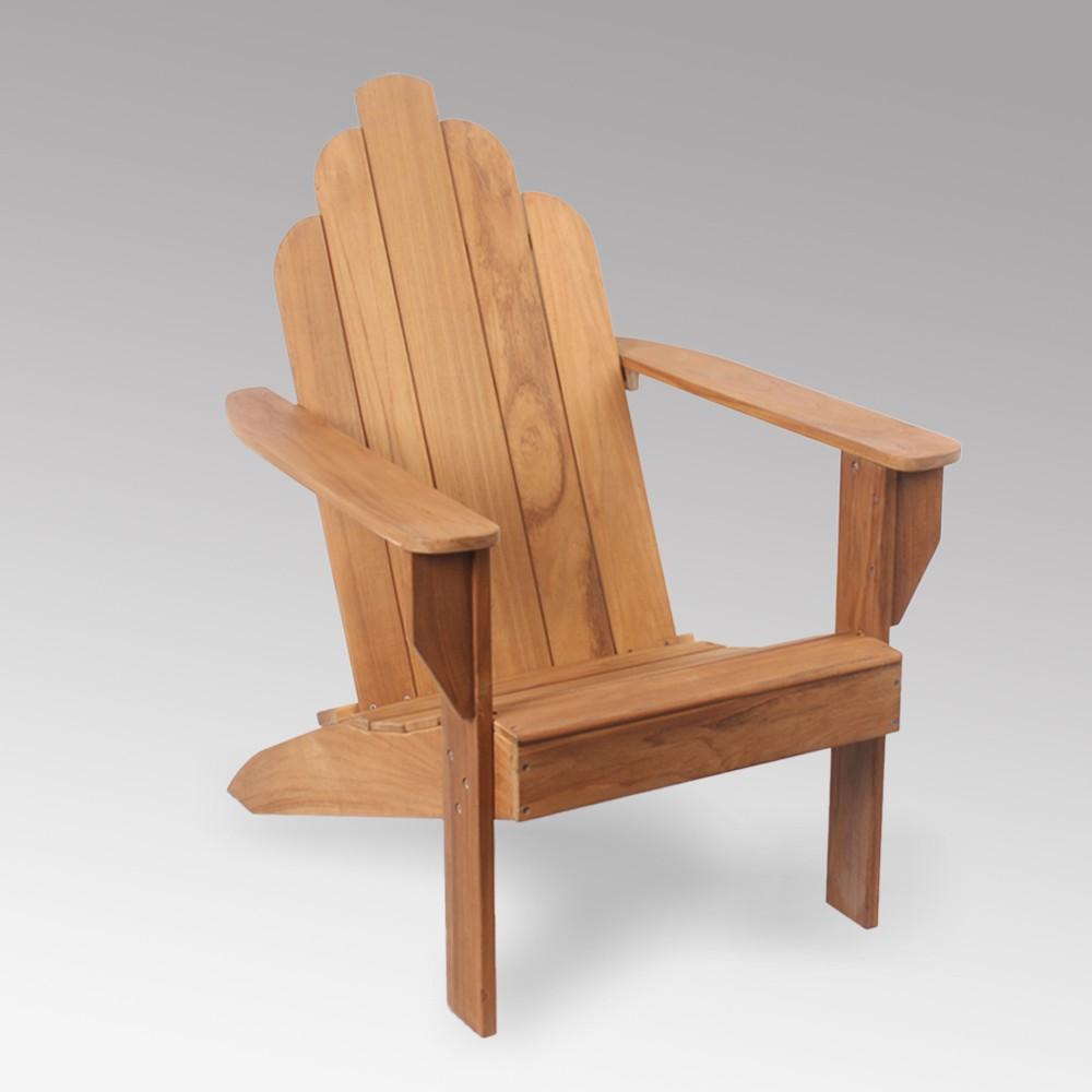 Sherwood Teak Adirondack Chair - Cambridge Casual, Brown