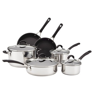 Circulon Innovatum Stainless Steel Nonstick 10 piece Cookware Set