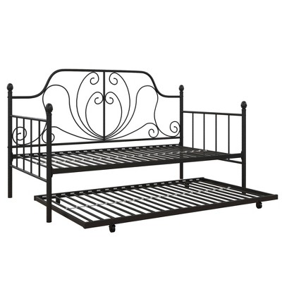 Leila Metal Daybed and Trundle - Room & Joy