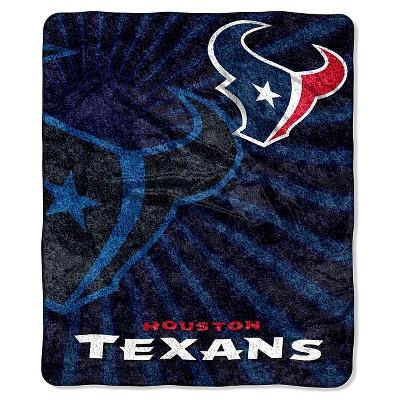 NFL Houston Texans Sherpa Throw Blanket - 50 x60