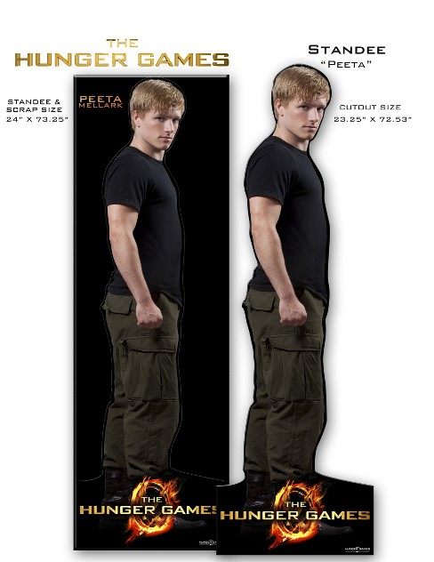 "The Hunger Games Movie Standee ""Peeta"" - image 1 of 1"