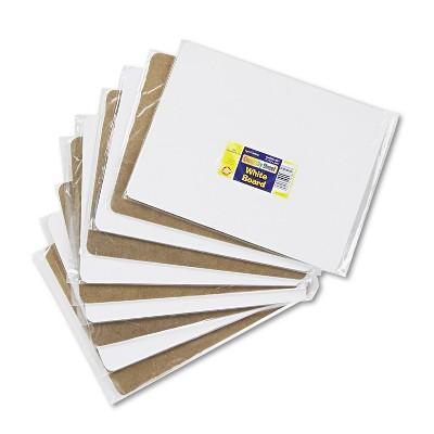 Chenille Kraft Unruled Student Dry-Erase Board Melamine 12 x 9 White 10/Set 988110