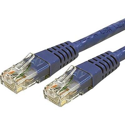 StarTech 4' Cat6 UTP Patch Cable, Blue C6PATCH4BL
