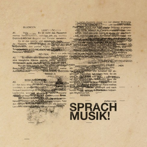 Stefan Roigk - Sprachmusik (CD) - image 1 of 1