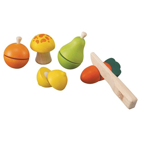 PlanToys® Fruit And Vegetable Play Set - image 1 of 1