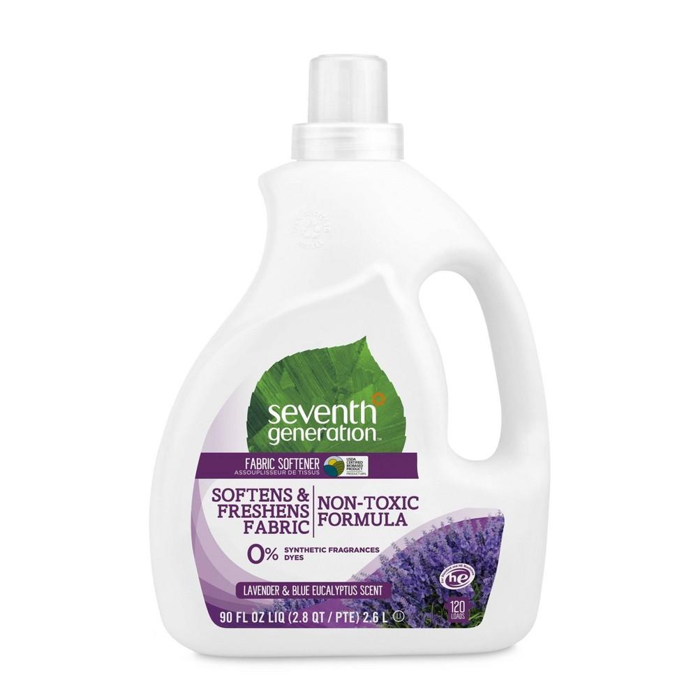 Seventh Generation Lavender Fabric Softener - 90 fl oz