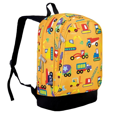 2f8a2537a2 Wildkin Olive Under Construction Sidekick Kids  Backpack - Yellow ...