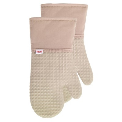 2pk Waffle Silicone Oven Mitt - T-Fal®