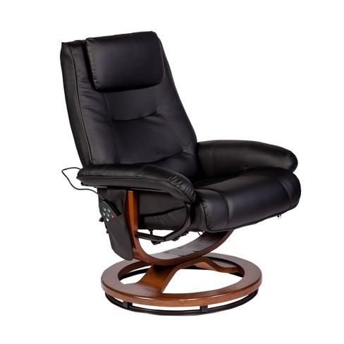 Deluxe Padded Massage Recliner - Relaxzen - image 1 of 4