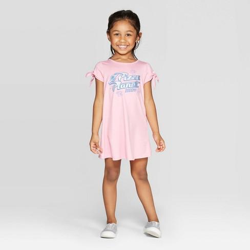 a5e1d006 Toddler Girls' Disney Pizza Planet Dress - Pink : Target